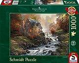Schmidt Spiele - Puzzle con Marco Thomas y Sus Amigos Thomas Kinkade, 1000 Piezas (57486)