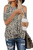 GOLDPKF Elegante tops para mujer con estampado de leopardo y Manga corta Medio Botas de lluvia de Zebra - Niños