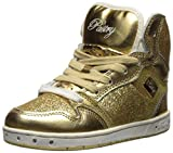Pastry Glam Pie Glitter Dance Sneakers, Gold, Youth/Size 12