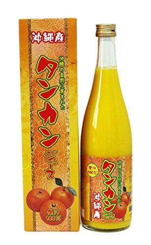沖縄産 果汁100% タンカンジュース 720ml