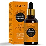 Matra Ayurvedic Kumkumadi Skin Lightening Oil with Pure Saffron, Sandalwood, Indian Madder and Liquorice