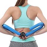 Ivim - Ottimo attrezzo ginnico da palestra unisex per tonificare i muscoli delle cosce, a casa o da viaggio, ideale per gambe, vita, cosce, fianchi, braccia, Uomo, Blue