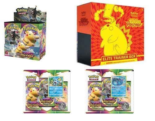 Pokemon TCG Sword and Shield Vivid Voltage Ultimate Trainer Kit Booster Box + Elite + Blisters