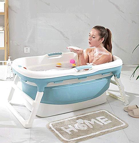 ZXC Klappbadewanne für Erwachsene, tragbare Badewanne, Haushaltsbadewanne Kunststoff-Spa-Badewanne rutschfeste isolierte Badewanne (A)