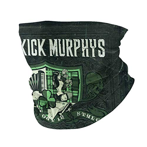 Drop-Kick Mur-PHYS Logo Summer Face Scarf Neck Gaiter Neck Cover Breathable for Fishing Hiking Camping Outdoors Sports