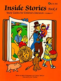 Inside Stories, Book 4 - Study Guides for Children's Literature