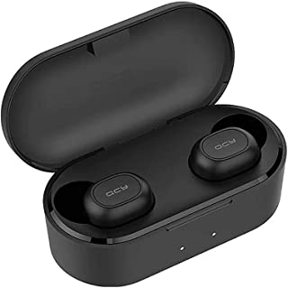 Demiawaking QCY T2C TWS Wireless Mini Bluetooth Earphone Noise Reduction Earbuds w/Mic (Buy one get one free, you will get two pairs of headphones)