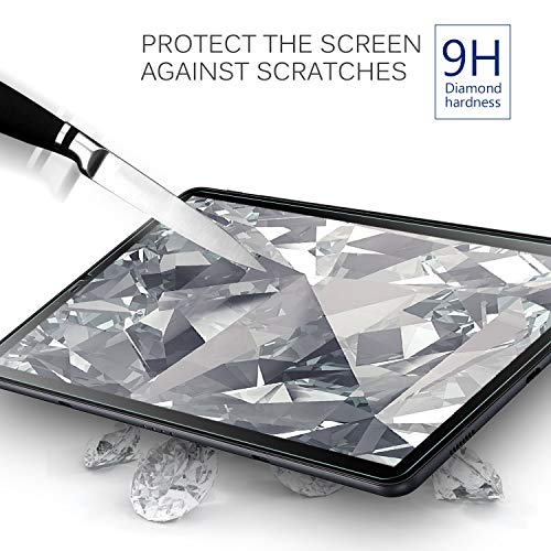IVSO Screen Protector for Samsung Galaxy Tab S4 10.5 SM-T835 Tablet Tempered-Glass,Scratch-Resistant No-Bubble for Samsung Galaxy Tab S4 SM-T830 Wi-Fi SM-T835 4G LTE 10.5-inch Tablet (2pcs)
