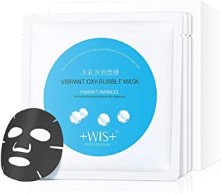 WIS 10 Pack Cleansing Mask, SPA Mask, Bubble Purifying Mask, Moisturizing Facial Mask,Treatment Mask Sheet for All Skin Type