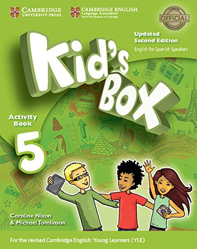 Kid's Box Level 5 Activity Book with CD ROM and My