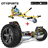 CITYSPORTS Hoverboard Tout Terrain 8.5', Hoverboard Hummer SUV, Bluetooth et APP,...