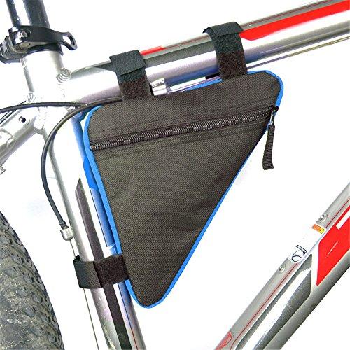 Colorful fietstas fietsstuurtas frametas/zwart/blauw/rood/geel