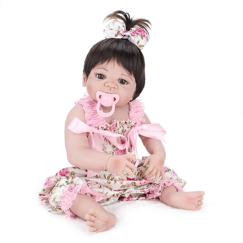 ペチュランス彼女のイサカ再生人形22インチ人形生まれ変わったフルビニール赤ちゃん人形用55センチリアルなソフトアライブ生まれ変わった赤ちゃん人形用子供プレイメイト