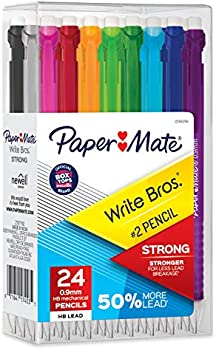 24-Count Paper Mate Mechanical Pencils, 0.9mm
