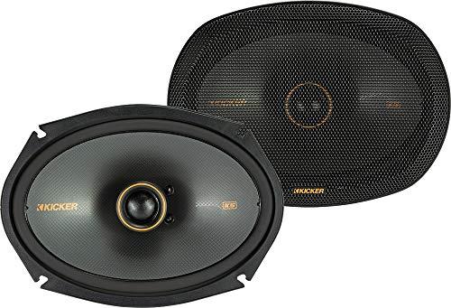 Kicker 47KSC6904 Car Audio 6x9 Coaxial 600W Peak Full Range Speakers KSC6904