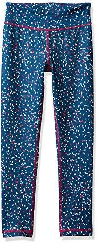 Amazon Essentials Mädchen Active Legging in voller Länge, Confetti, US M (EU 128 CM)