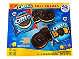 Oreo Fall Treat Chocolate Cookies 2.14 Lb! Includes 25 Double Stuf And 20 Halloween Cookies! Tasty Chocolate Sandwich Cookies! Perfect For The Lunch Box Or Snacking On-The-Go!