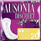 Ausonia Discreet - Compresas para pérdidas de orina mini para vejigas hiperactivas x 20