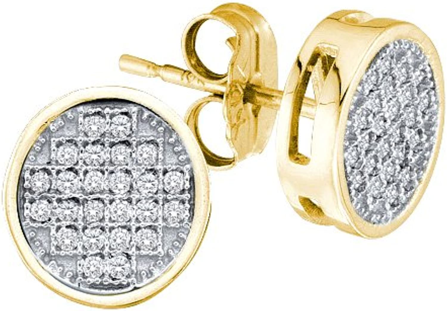 1 20 Total Carat Weight DIAMOND MICROPAVE EARRING