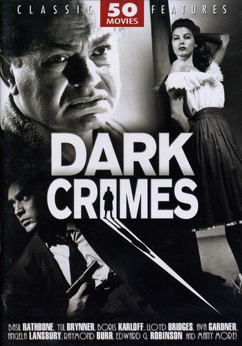 Dark Crimes - 50 Movie Set: Flowers from a Stranger - The Limping Man - The Mystery of Mr. Wong - The Strange Woman - Whistle Stop - D.O.A. + 44 more!