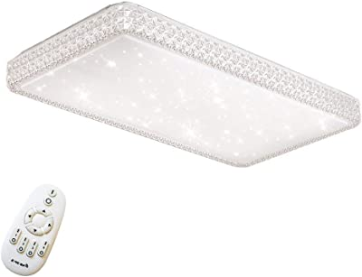 48W LED Regulable Ultraslim Moderno Lámpara de techo ...