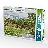 CALVENDO Puzzle Hyangwonjeong Pavillon, Palastanlage in Seoul, Südkorea. 1000 Teile Lege-Größe 64 x 48 cm Foto-Puzzle Bild Verlag