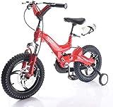 LYP Triciclo Bebé Trolley Trike Conveniente Bicicleta para niños, Double Shock 3-6 años 14/16 Pulgadas Hombres y Mujeres Pedal de bebé Aleación de magnesio Bicicleta de montaña cómoda
