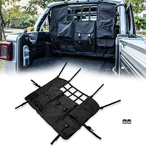 Pet Trunk Liner Mat Cover,Multipurpose Storage Case Cargo Cover LE-JX Black-US Flag Hammock Style Dog Car Seat Cover Compatible with 2007-2019 Jeep Wrangler JK JKU 4-Door Non-Slip//Waterproof