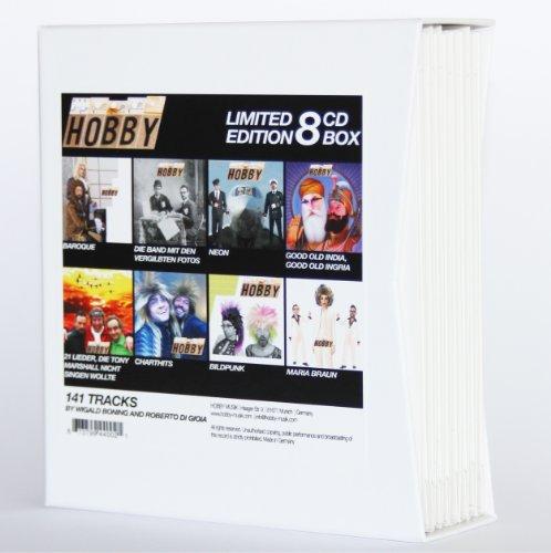 WIGALD BONING & ROBERTO DI GIOIA (Hobby) 8-CD Box