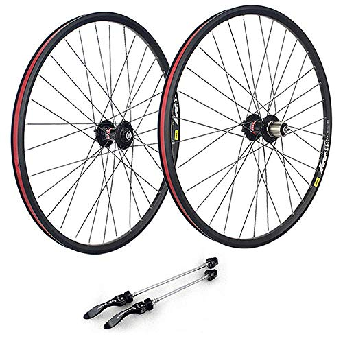 Juego de ruedas para bicicleta de montaña de 29 pulgadas, llanta de aleación de doble pared Llantas MTB Juego de ruedas para bicicleta de carretera de liberación rápida Freno de disco 7 8 9 10 velocid