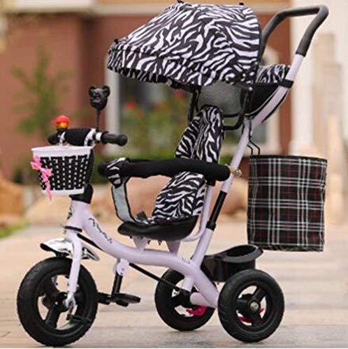 Comfortabele kinderwagentjes Baby Kinderen driewieler Mannelijke en Vrouwelijke Baby Bike Trolley/1-2-3-6-jarige Kid Bike Baby Trolley (Kleur: 5)