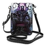 Bolsas de cuero para teléfono celular, de Pantera Negra Fuerte, livianas, pequeñas, de Pantera Negra, bolsa de viaje con Cred