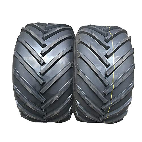 MOTOOS Set of 2 Lawn Mower Turf Tires 16x6.50-8 for Garden Tractor Golf Cart Tire 16x6.50x8 4PR Tubeless Load Range B