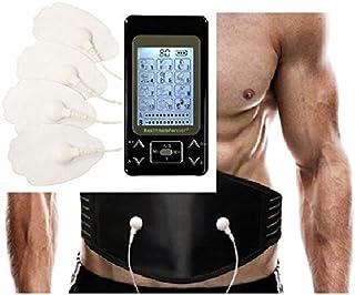 HealthmateForever 12 modos impulso Personal Mini eléctrico electroterapia Digital masajeador manual negro