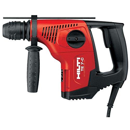 Hilti 03476284 TE7-C 720 W 120-volt Rotary Hammer Drill Deluxe Kit