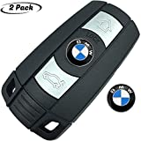2pcs 11mm key button emblem replacement for BMW,Suitable for all BMW remote control key models