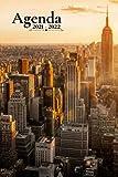 Agenda Escolar 2021 2022: Nueva York | Semanal tamaño A5 para estudiantes, profesionales y particulares - (de agosto 2021 a julio 2022)