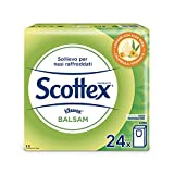 Scottex Balsam Fazzoletti, 1 Confezione da 24 Pacchetti