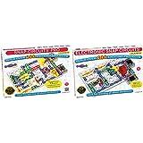 Snap Circuits Pro SC-500 Electronics Exploration Kit   Toy for Kids 8 + & Circuits Classic SC-300 Electronics Exploration Kit   STEM Educational Toy for Kids 8+,Black,2.3 x 13.6 x 19.3 inches