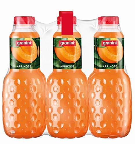 granini Trinkgenuss Aprokose-Nektar, 6er Pack (6 x 1 l) Flasche