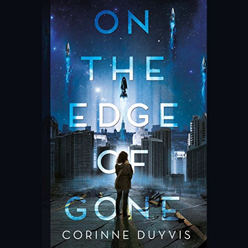 On the Edge of Gone audiobook cover art
