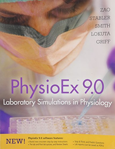 Physioex 9.0 Laboratory Simulations in Physiology W/cd (physioex 9.0 laboratory simulations in physiology w/cd)