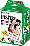 Fujifilm - Twin Films pour Instax Mini - 86 x 54 mm - 10 feuilles x 2 paquets =...