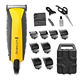 Remington HC5850 Virtually Indestructible Haircut Kit & Beard Trimmer, Hair Clippers for Men (15...