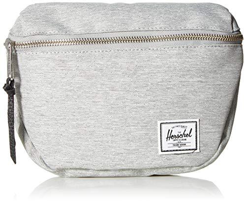 Herschel Fifteen Waist Pack, Light Grey Crosshatch/Black, 2.0L