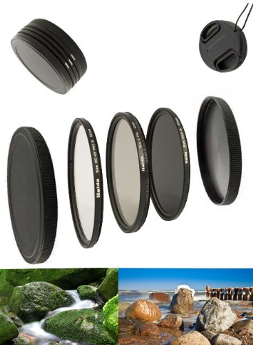 Digital Slim Filter Komplettset Pro für 62mm Objektive - Slim UV MC Pro II - Slim Zirkular...