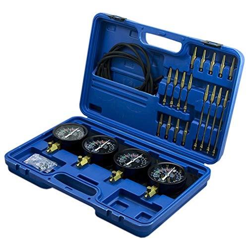 Tragbarer Kraftstoff-Vakuum-Vergaser-Synchronizer-Universal-Car-Sync-Messgerät 4-Messgeräte-Werkzeugwein-