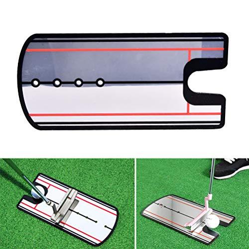 EASYG 31cm x 14.5cm Golf Putting Mirror Alignment Training Aid Swing Trainer Eye Line Golf...
