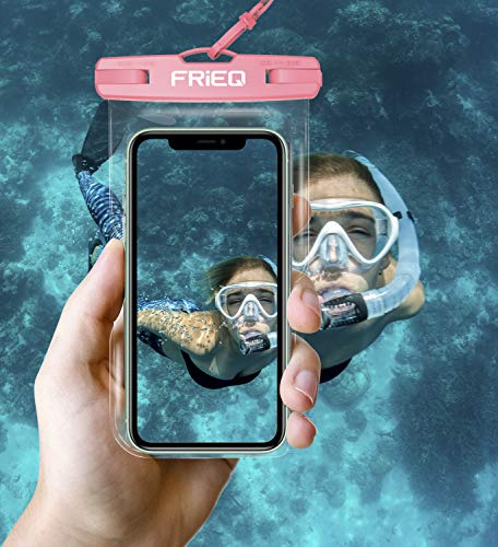 Waterproof Case 2 Pack for iPhone 13/13 Pro Max/12/12 Pro/SE/Xs Max/XR/8P/7 Galaxy up to 7