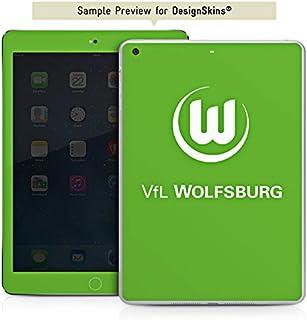 DeinDesign Apple iPad Mini 4 Folie Skin Sticker aus Vinyl-Folie Aufkleber VFL Wolfsburg Fanartikel Fußball